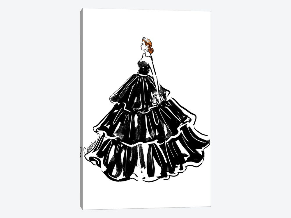 Crowning Glory by Cate Odson 1-piece Art Print