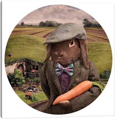 The Carrot Farmer Canvas Art Print