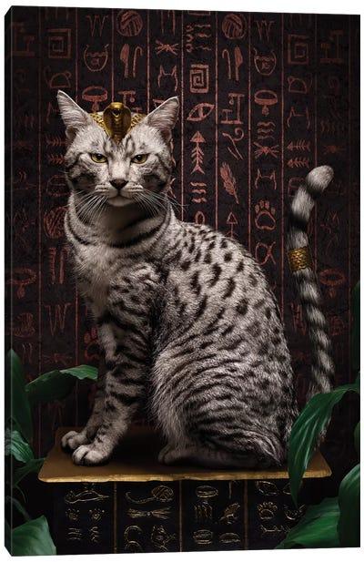 The Egyptian Mau Canvas Art Print