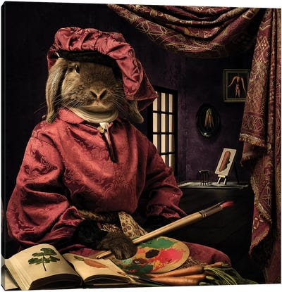 The Renascence Carrot Painter Canvas Art Print