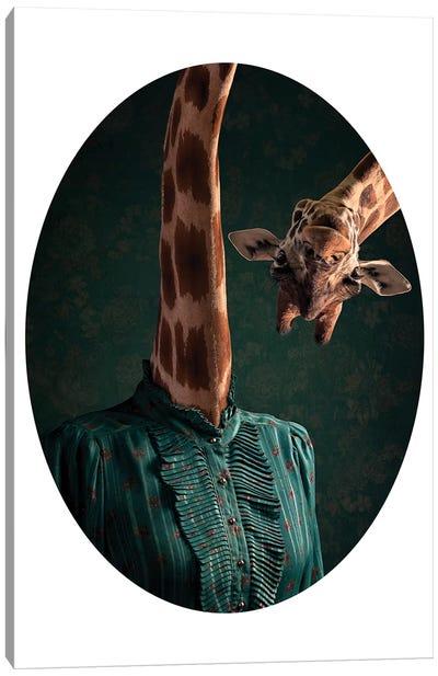 Giraffe Problems Canvas Art Print