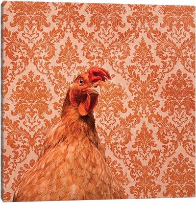 Matilda The Chicken Canvas Art Print