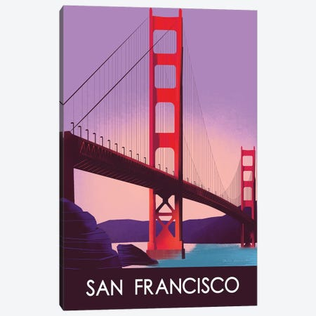 San Francisco I Canvas Print #OES10} by Omar Escalante Canvas Artwork