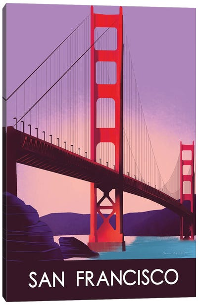 San Francisco I Canvas Art Print
