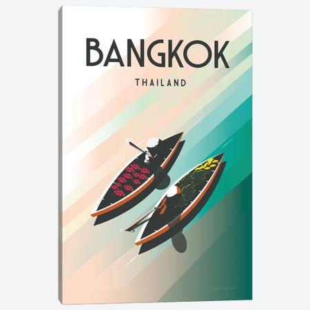 Bangkok Thailand Canvas Print #OES12} by Omar Escalante Canvas Art