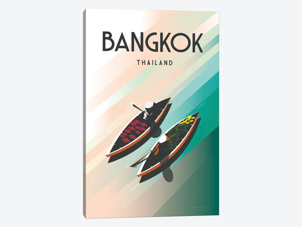 Bangkok Thailand by Omar Escalante 1-piece Canvas Wall Art