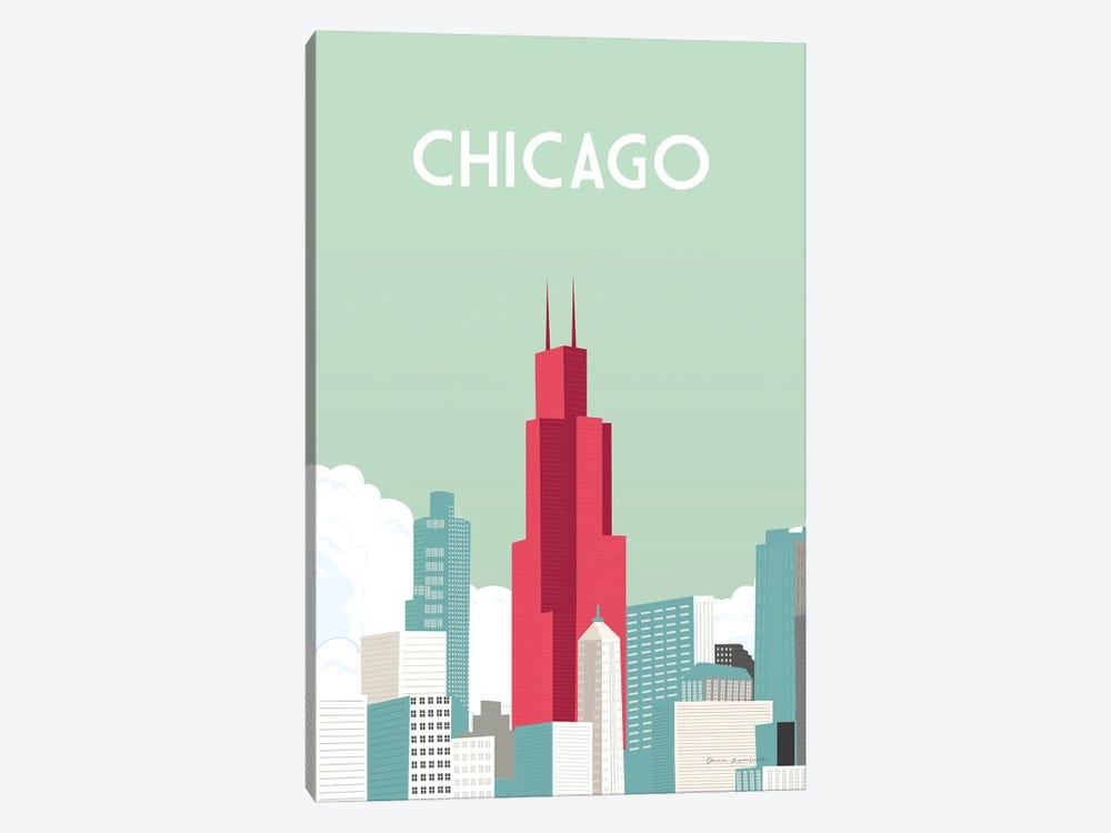 Chicago by Omar Escalante 1-piece Art Print