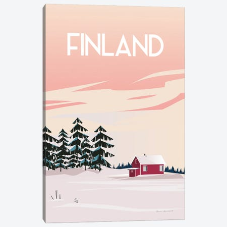 Finland II Canvas Print #OES14} by Omar Escalante Canvas Art Print