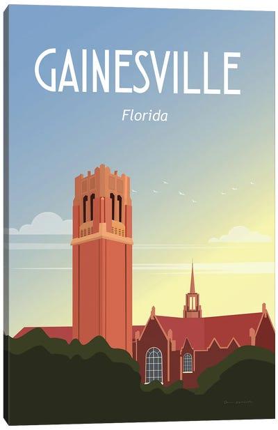 Gainesville Canvas Art Print