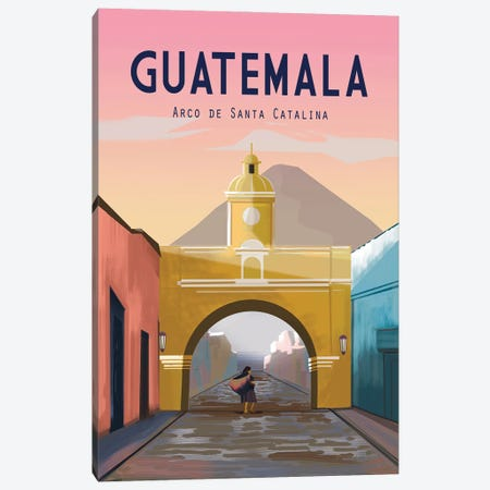 Guatemala Canvas Print #OES16} by Omar Escalante Canvas Print