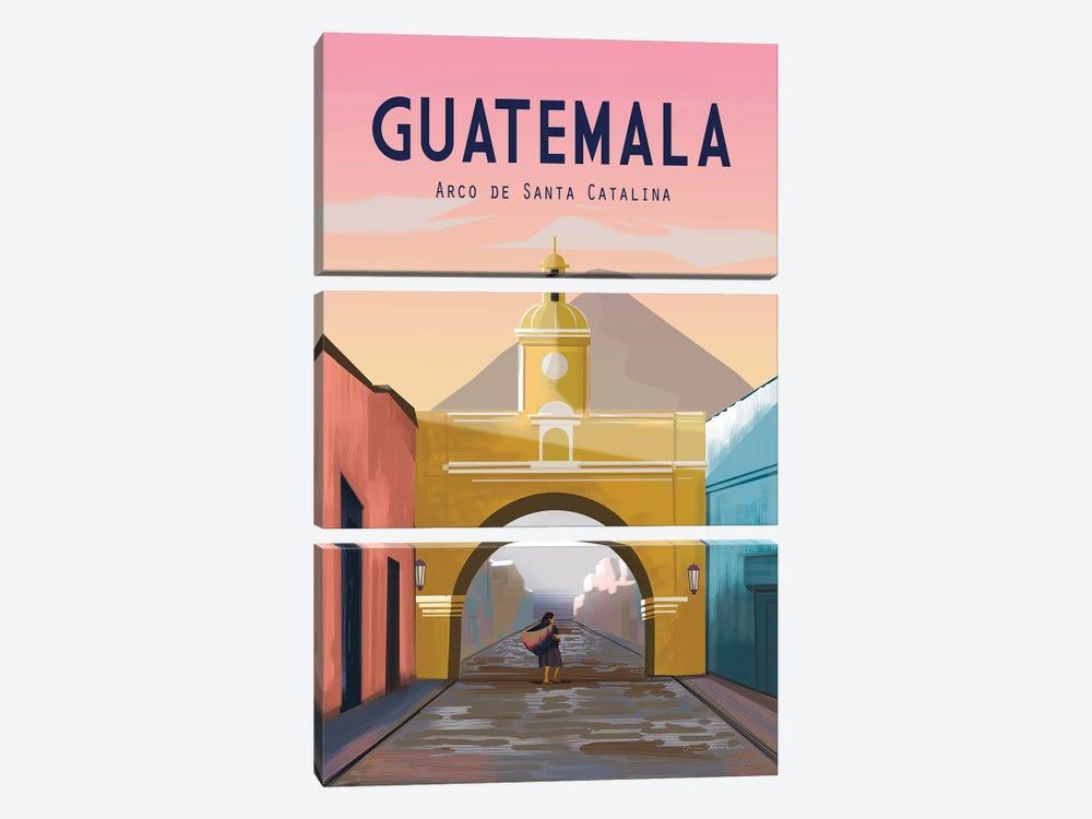 Guatemala by Omar Escalante 3-piece Canvas Artwork