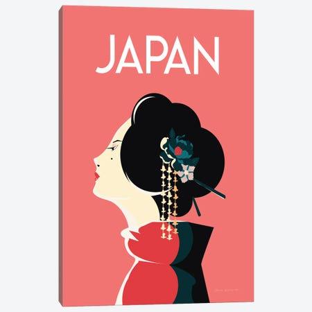 Japan Canvas Print #OES17} by Omar Escalante Art Print