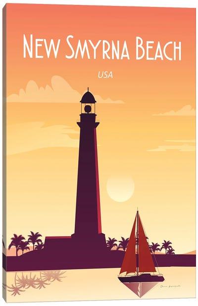 New Smyrna Beach Canvas Art Print