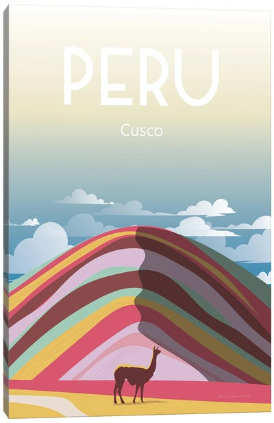 Peru Canvas Art Print