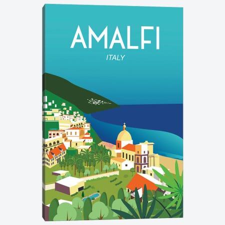 Amalfi Canvas Print #OES1} by Omar Escalante Canvas Art
