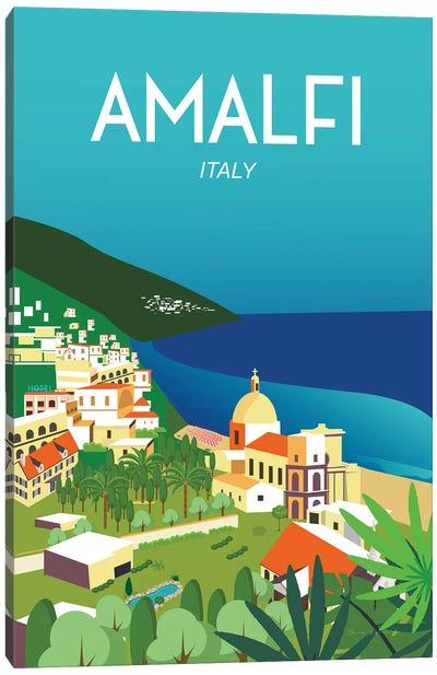 Amalfi Canvas Art Print