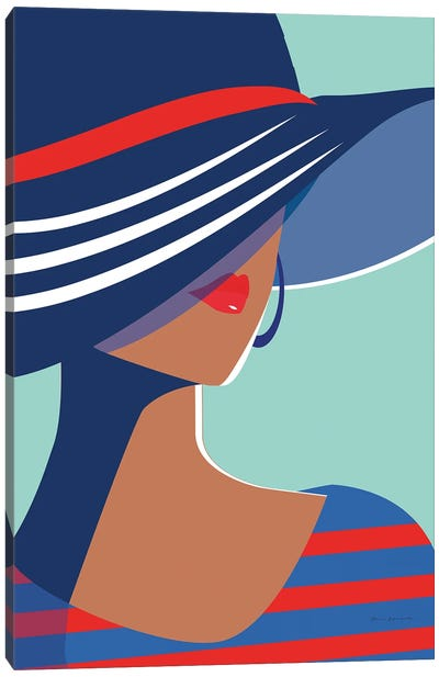 Beach Chic I Canvas Art Print