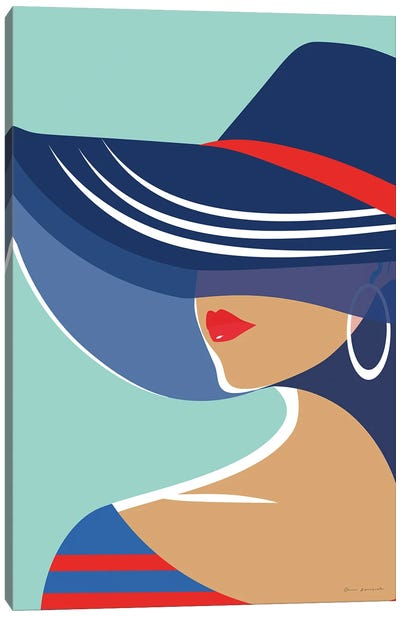Beach Chic II Canvas Art Print