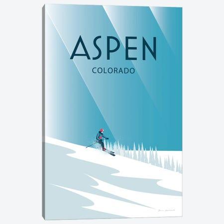 Aspen Canvas Print #OES24} by Omar Escalante Canvas Wall Art
