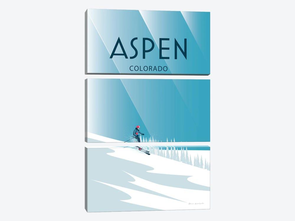Aspen by Omar Escalante 3-piece Canvas Print