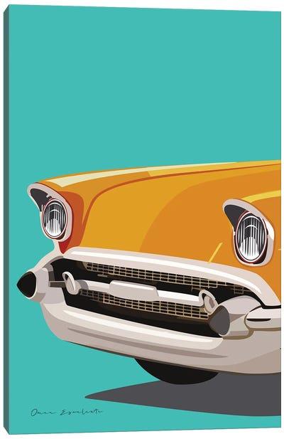 Vintage Car II Canvas Art Print