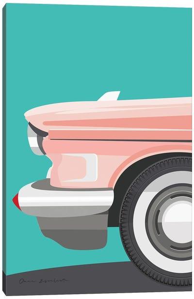 Vintage Car III Canvas Art Print
