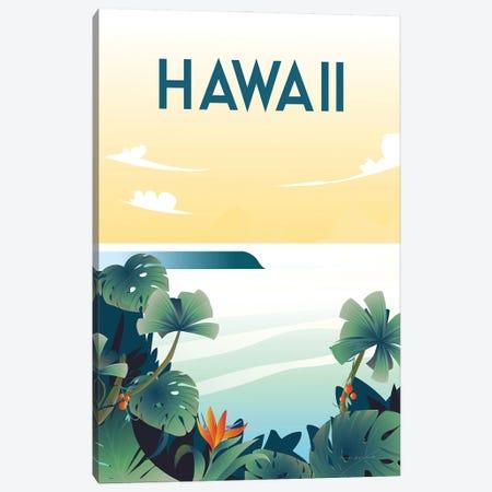 Hawaii Canvas Print #OES3} by Omar Escalante Canvas Art
