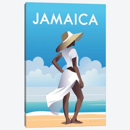 Jamaica Canvas Print #OES4} by Omar Escalante Canvas Art Print
