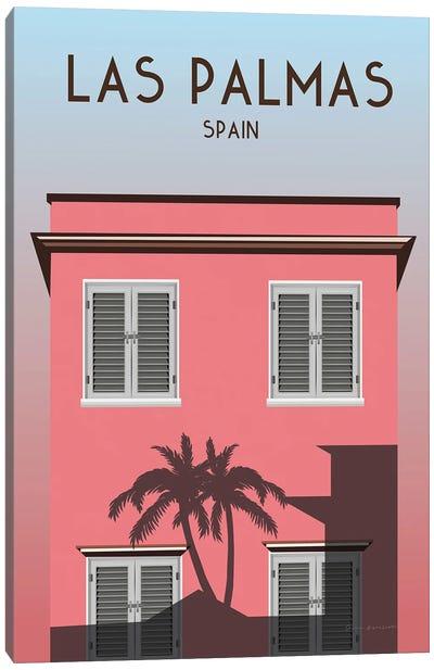 Las Palmas Canvas Art Print