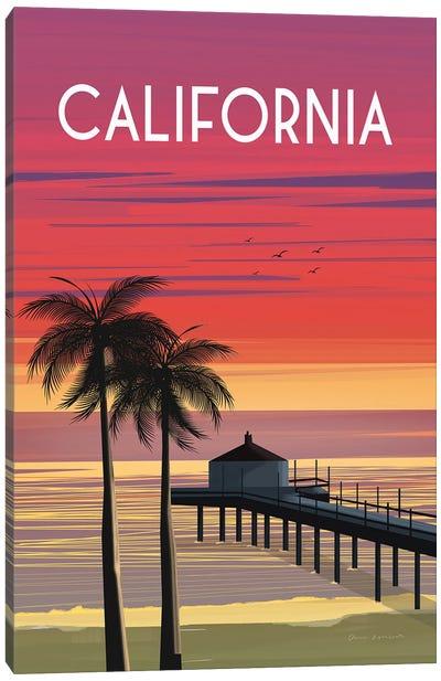 California Canvas Art Print