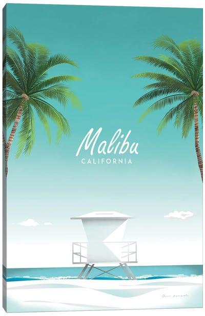 Malibu Canvas Art Print
