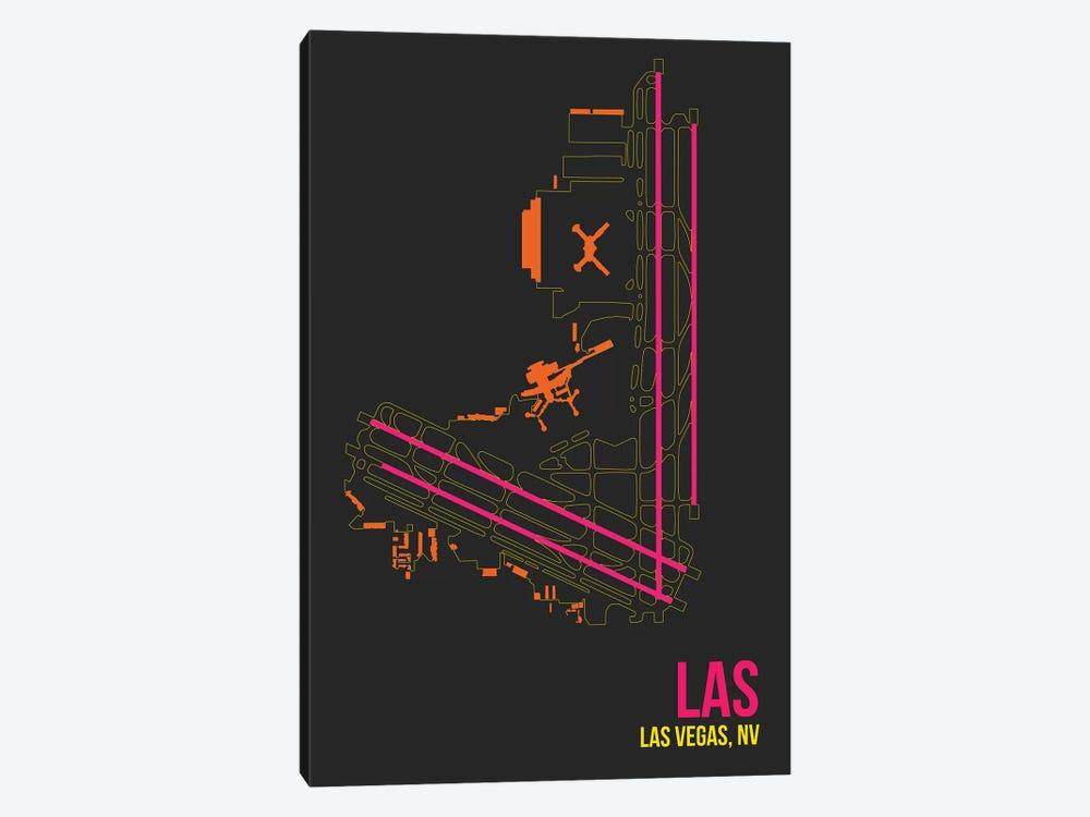 Las Vegas (McCarran) by 08 Left 1-piece Canvas Print