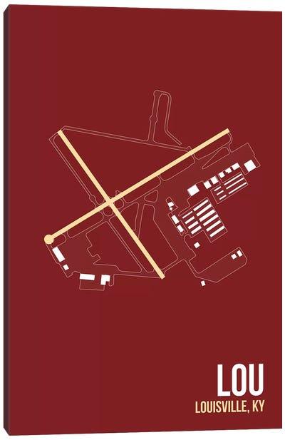 Airport Diagram Series: Louisville (Bowman Field) Canvas Print #OET110