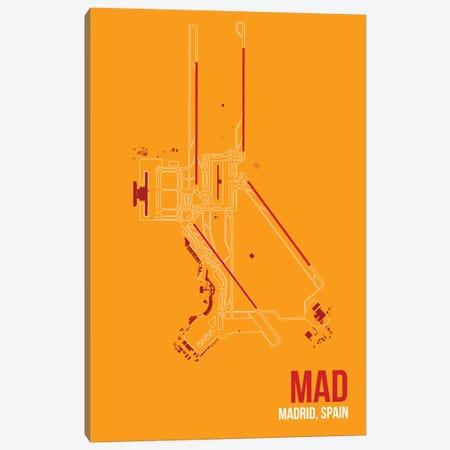 Madrid (Adolfo Suárez Madrid–Barajas) Canvas Print #OET112} by 08 Left Canvas Art