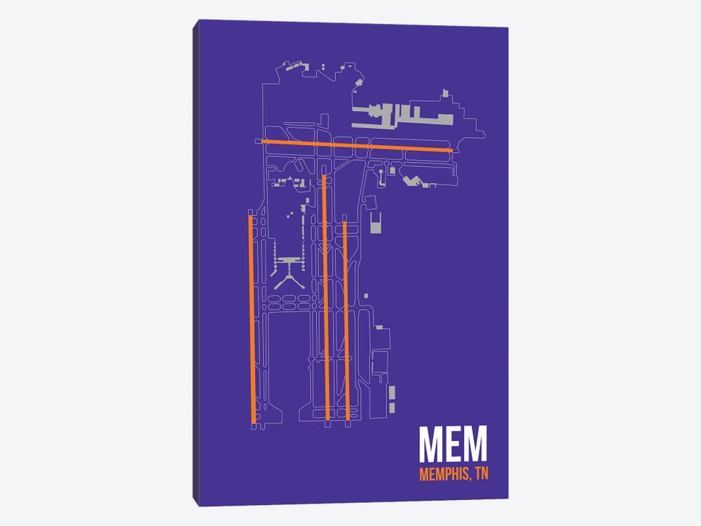 Memphis 1-piece Canvas Art
