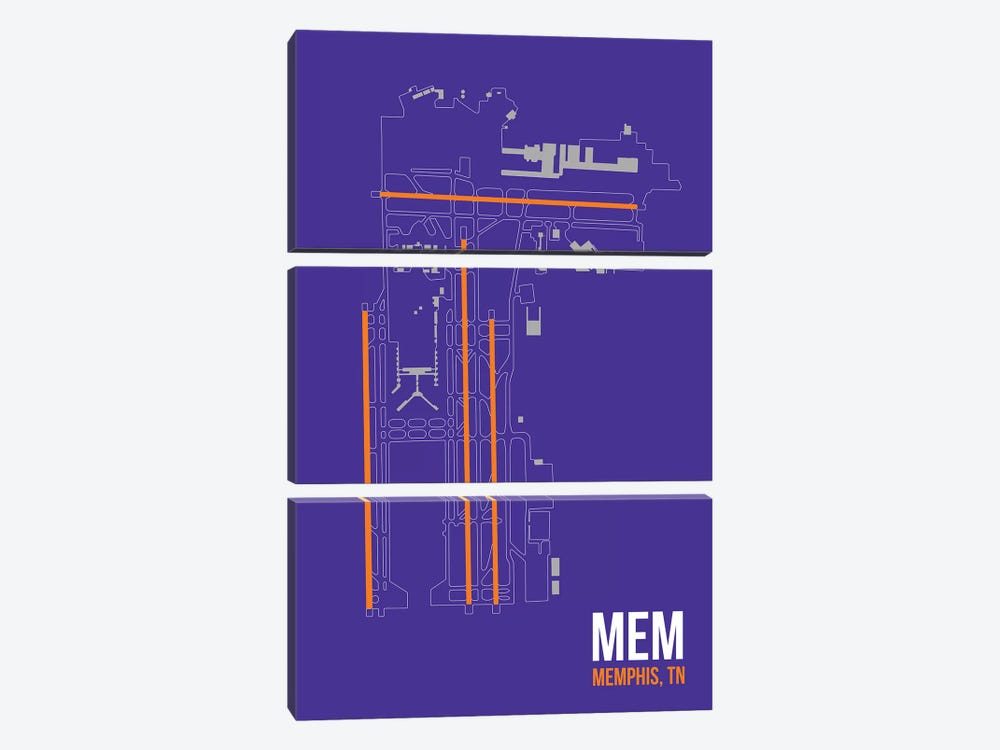 Memphis 3-piece Canvas Artwork