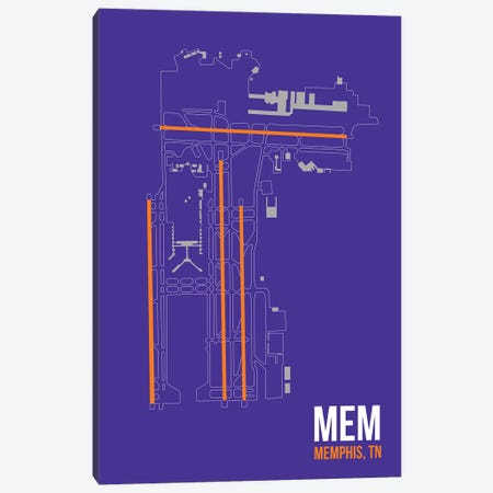 Memphis Canvas Print #OET113} by 08 Left Canvas Artwork