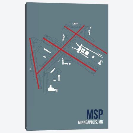 Minneapolis-Saint Paul Canvas Print #OET117} by 08 Left Canvas Print