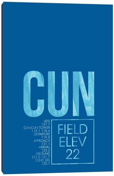 Air Traffic Control Series: Cancun Canvas Print #OET11