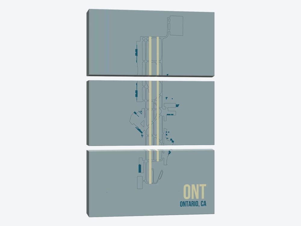 Ontario by 08 Left 3-piece Canvas Wall Art