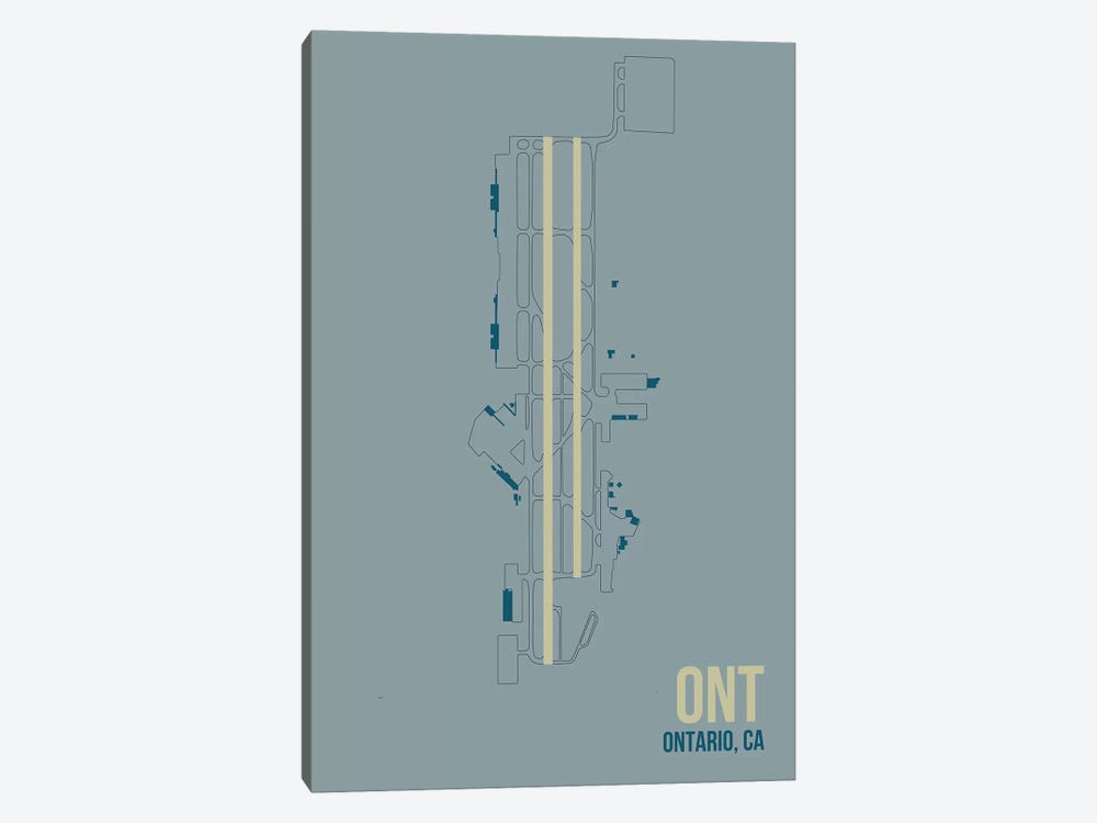 Ontario by 08 Left 1-piece Canvas Wall Art