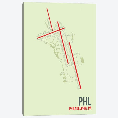 Philadelphia Canvas Print #OET127} by 08 Left Canvas Artwork