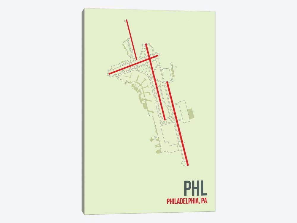 Philadelphia by 08 Left 1-piece Canvas Print