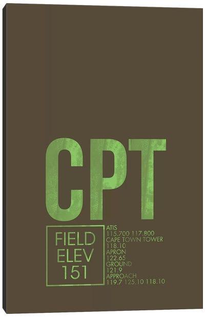Air Traffic Control Series: Cape Town Canvas Print #OET12
