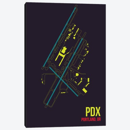 Portland Canvas Print #OET130} by 08 Left Canvas Art