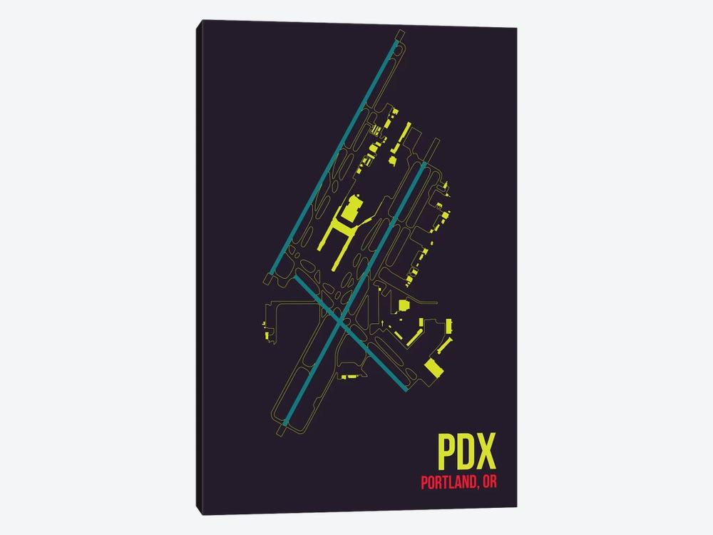 Portland by 08 Left 1-piece Canvas Print