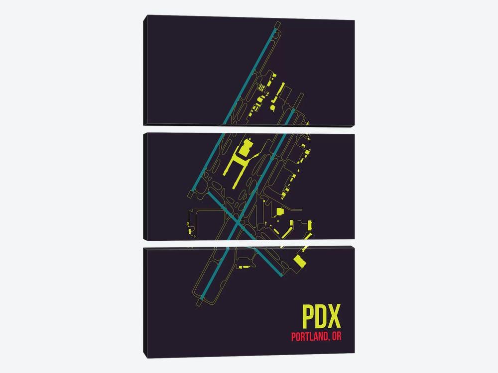 Portland by 08 Left 3-piece Canvas Art Print