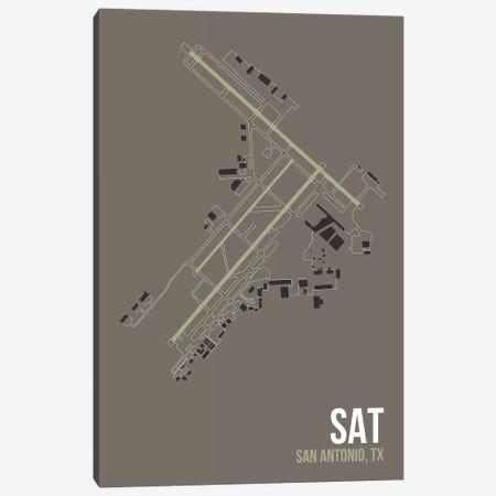 San Antonio Canvas Print #OET133} by 08 Left Canvas Artwork