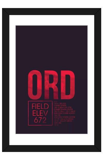 Chicago (O'Hare) Framed Art Print