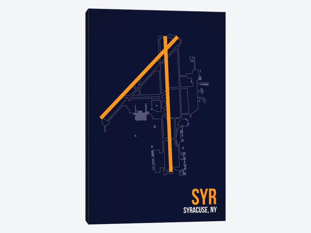 Syracuse Hancock by 08 Left 1-piece Canvas Print
